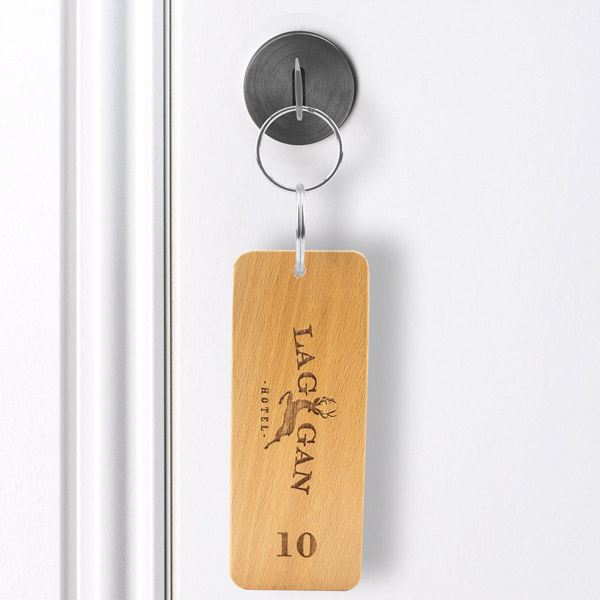Wooden Keyring & Wood Key Fobs at MenuShop