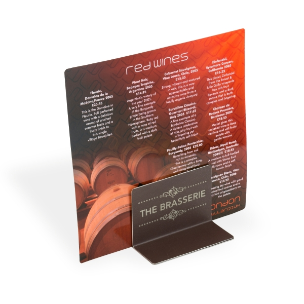 Acrylic menu holder menu holder menu holder stand plastic menu holders table menu holders menu stand acrylic menu