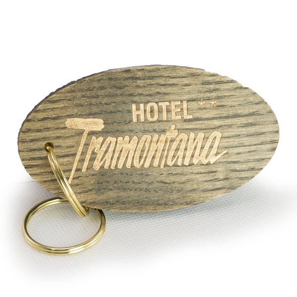 Engraved Wooden Keyrings & Key Fobs
